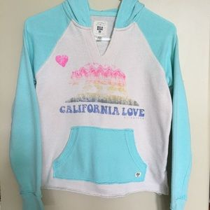 BillaBong CALIFORNIA LOVE Hoodie. Girls L/G🌹